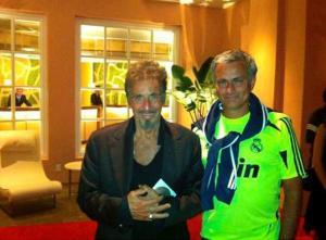 Al Pacino y José Mourinho. Tal para cual.