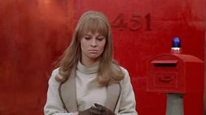 La celestial Julie Christie en la adaptación cinematográfica hecha por Truffaut.