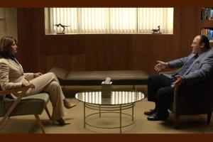 Jennifer Melfi y Tony Soprano: el mejor dúo de la historia de la televisión.