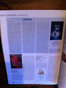 Reseña de 'Manu' en Revista Leer.
