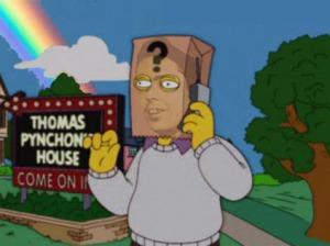 Pynchon visto por Los Simpsons.