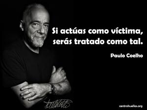 Si hablas como Coelho, serás tratado como tal.
