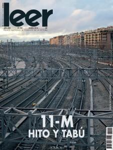 Portada del número 250 de la revista LEER, marzo de 2014.