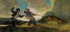 El derbi visto por Goya.