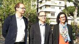La terna de Mas para enseñar democracia en Madrit.