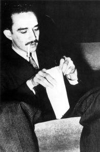 Gabo cuando aún era el reportero García.