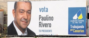 Con petróleo o sin petróleo, vota a Paulino.