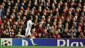 El héroe del silencio en Liverpool.