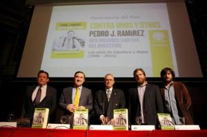 La escudería que arropó a Pedro J en el Ateneo: Ussía, Gistau y Jabois