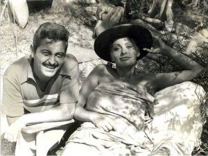 Vidal y Loren, en un receso.