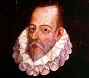 Cervantes, manco para unas cosas y de mano larga para otras.