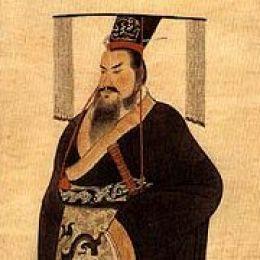 El primer emperador chino: Qin Xi Huang.