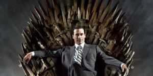 Draper en el trono de hierro de la gran ficción televisiva.