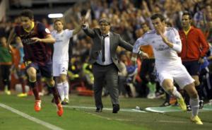 Bale. Corriendo.