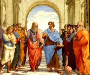 Tertulianos en la época buena de Grecia.