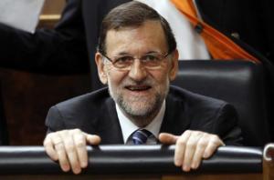 Y de repente, Rajoy.