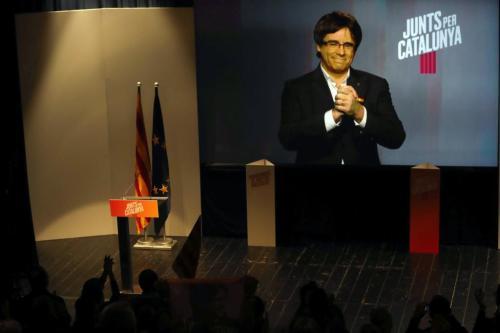 JUNTS PER CATALUNYA ACTO EN PARETS DEL VALLÉS (BARCELONA)
